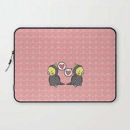 Cockatiel Pattern Laptop Sleeve