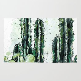 Cactus Long and a friend Rug