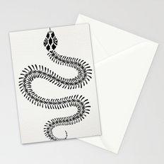 Snake Skeleton – Black Ink Stationery Cards