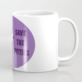 Save The Pitties Coffee Mug
