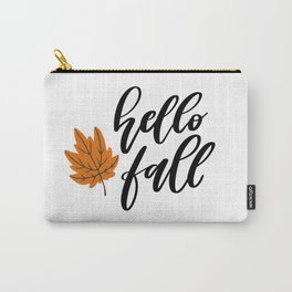 Hello Fall Carry-All Pouch