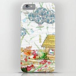 Springtime landscape iPhone Case