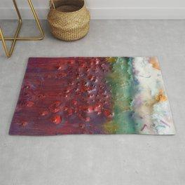 Colors of the Season (christmas abstract) Rug