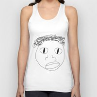 stanley kubrick Tank Tops featuring Stanley by Childish Gavino