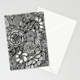 Peony Fascination Stationery Cards