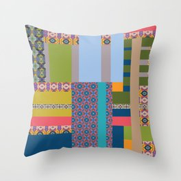 All about pattern Throw Pillow