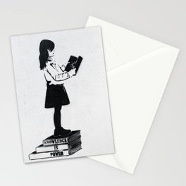 Knowledge is power Stationery Cards
