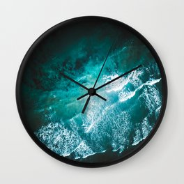 Ocean Explosions Wall Clock