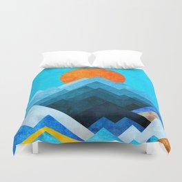 Ocean Peaks Duvet Cover