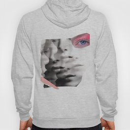 collage portrait Hoody