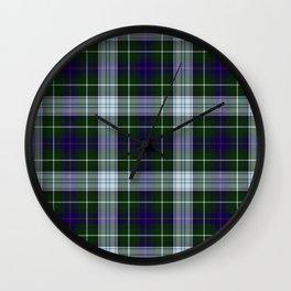 Clan MacKenzie Tartan Wall Clock