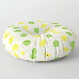 Kawaii Lemons & Limes Floor Pillow