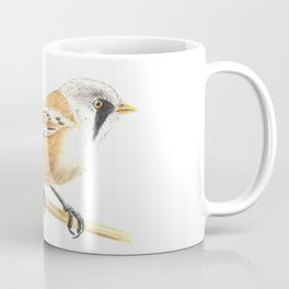 Tit bird, watercolor painting Coffee Mug