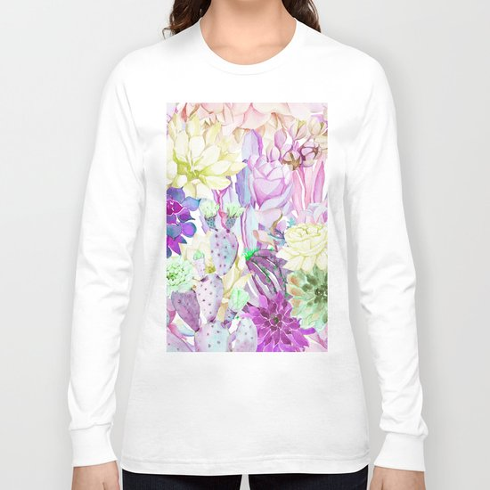 Lilac garden Long Sleeve T-shirt
