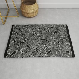 Inverted Enveloping Lines Rug