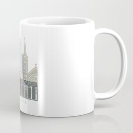 El Paso skyline poster Coffee Mug