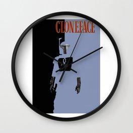 Cloneface Wall Clock