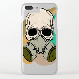 Basic Toxicity Clear iPhone Case