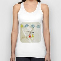 sisters Tank Tops featuring Sisters?  by Ethna Gillespie