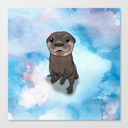 Otter Cuteness Canvas Print