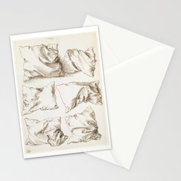Six Studies of Pillows by Albrecht Durer, 1493 Stationery Cards