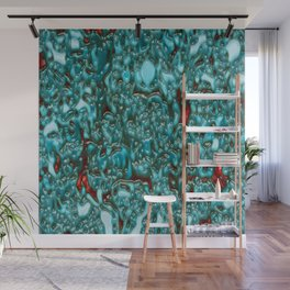 background organic pattern alie Wall Mural