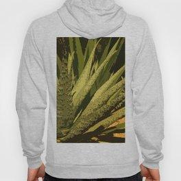 Aloe Vera Leafes Abstract Hoody
