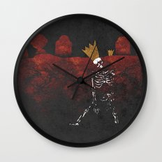 King Nothing Wall Clock