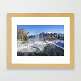 Snow Kanas Framed Art Print
