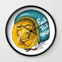 Fuck The Macho Wall Clock
