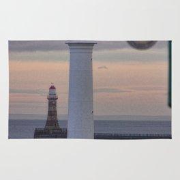 Seaburn and Roker Lighthouse. Rug