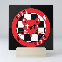 Ruckus Rats Mini Art Print