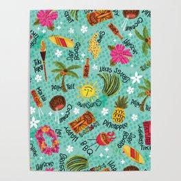 It's A Tiki Party! Poster