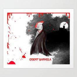 COUNT BARKULA Art Print