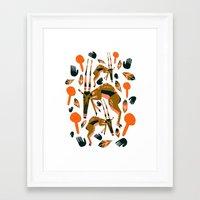 africa Framed Art Prints featuring Africa by Marijke Buurlage