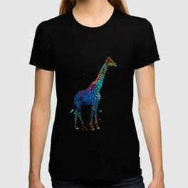 Blue Giraffe T-shirt