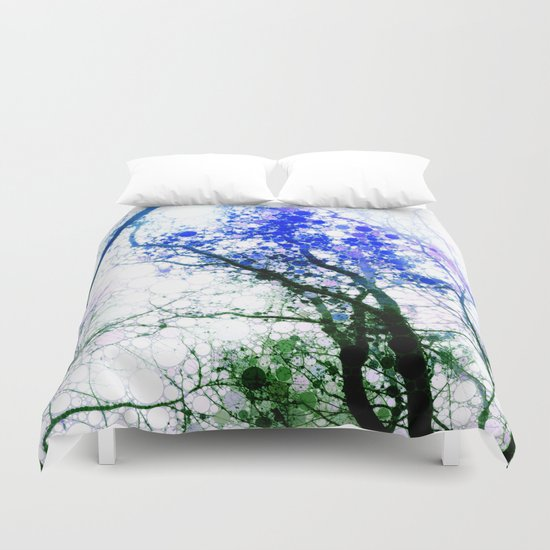 Tree Abstract 1 Duvet Cover