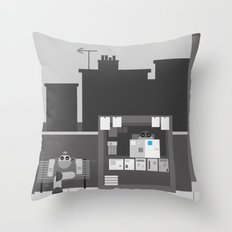 Another Grey Day Throw Pillow