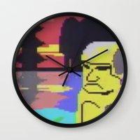 tiki Wall Clocks featuring Tiki by Vaporware