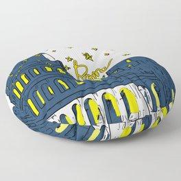Rome Italy Floor Pillow