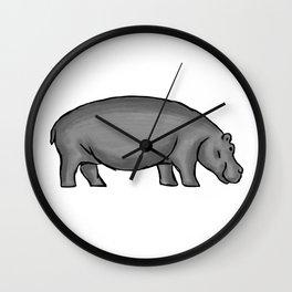 Hippo Wall Clock