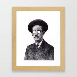 James Joyce Framed Art Print