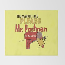 Mr. Postman Throw Blanket