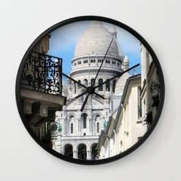 Sacre Coeur Wall Clock