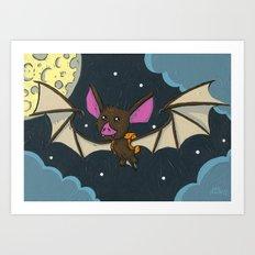 Bat Pack Art Print