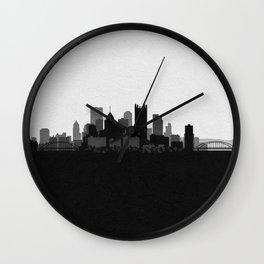 City Skylines: Pittsburgh Wall Clock