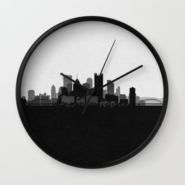 City Skylines: Pittsburgh Wall Clock