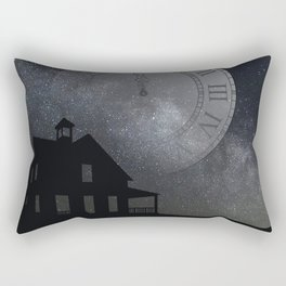back before midnight Rectangular Pillow
