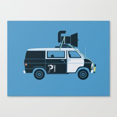 The Blues Brothers' Van Canvas Print