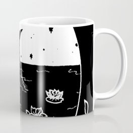 Moon River Marsh Illustration Invert Coffee Mug